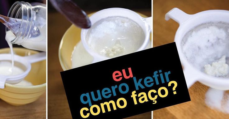 Você conhece o KEFIR? O alimento probiótico para fazer iogurte que emagrece.