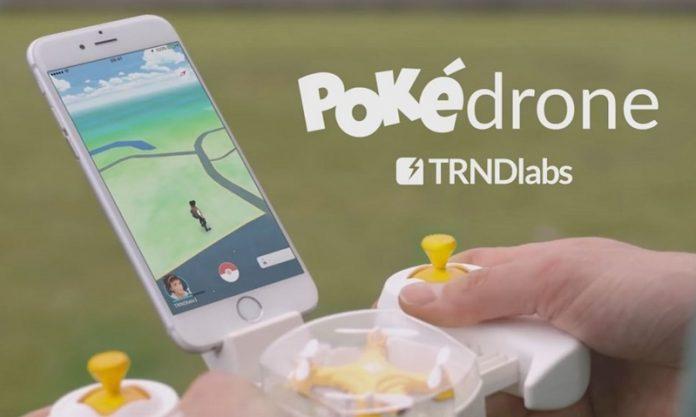 Drones e Pokémon Go? Assim nasce o Pokédrone