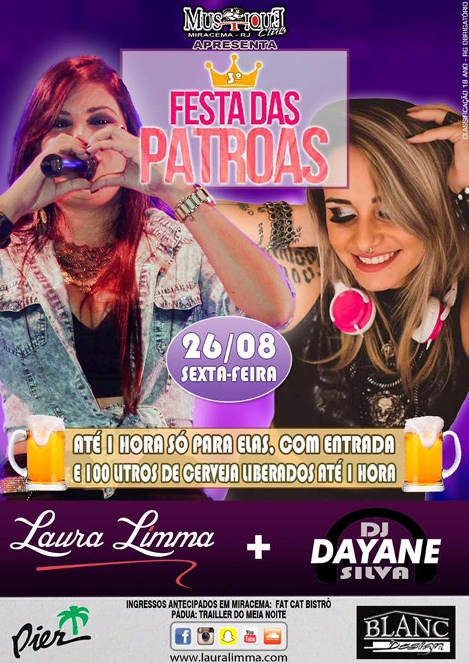 Festa das Patroas com Laura Limma em Miracema