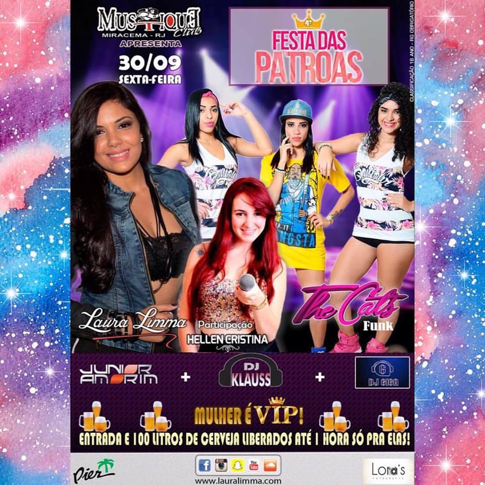 Festas das Patroas em Miracema com Laura Limma