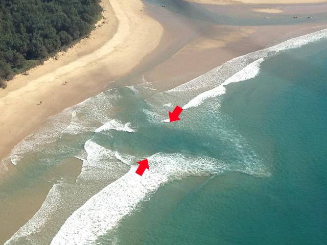 Salve vidas, sabendo o que é uma Corrente de retorno ou Vala do Mar?