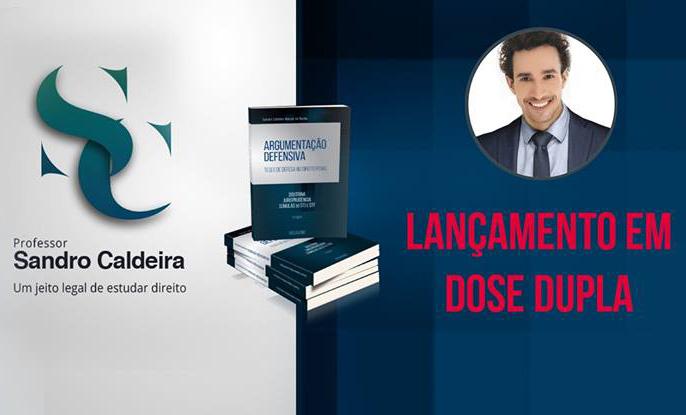 O Itaocarense Sandro Caldeira, estará lançando nesta quinta-feira 06/10 o Livro Argumentação Defensiva
