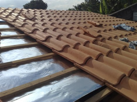 Lona para telhado colonial