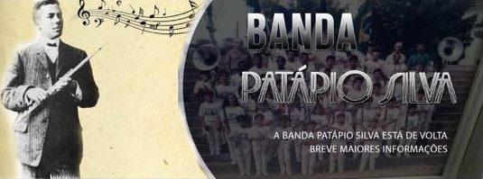 A Banda Patápio Silva irá tocar no dia 28 de maio nos quiosques de Itaocara