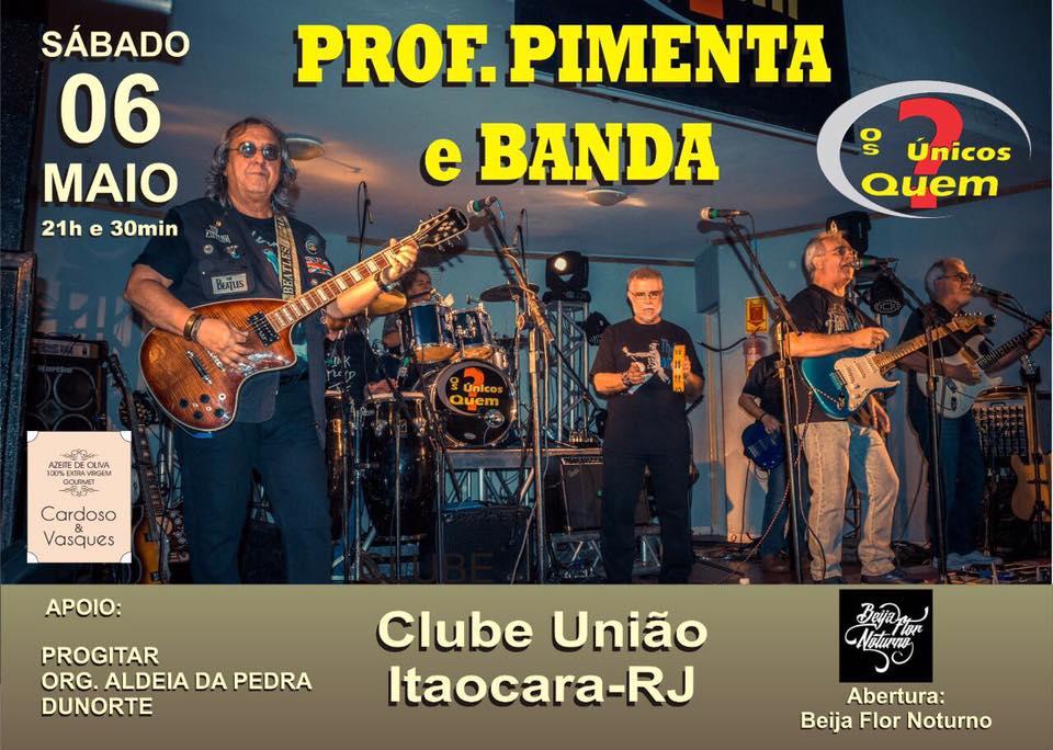 Professor Pimenta e Banda no Clube União em Itaocara