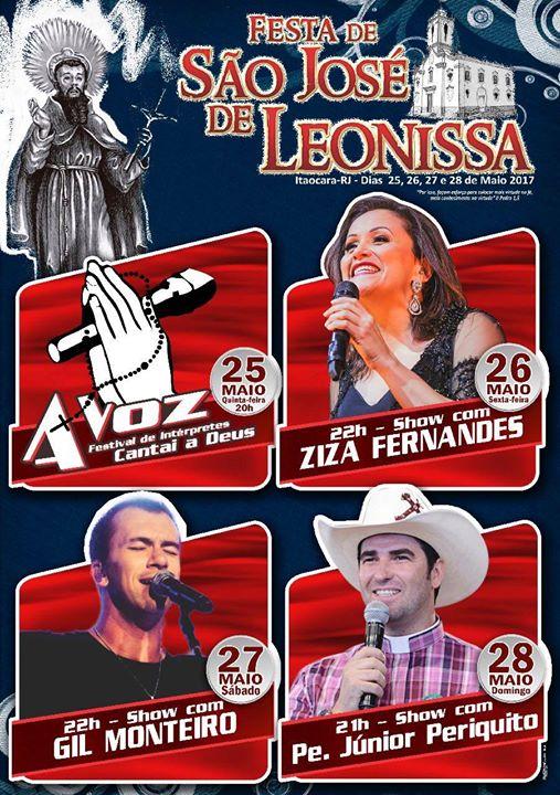 Festa de São José de Leonissa 2017