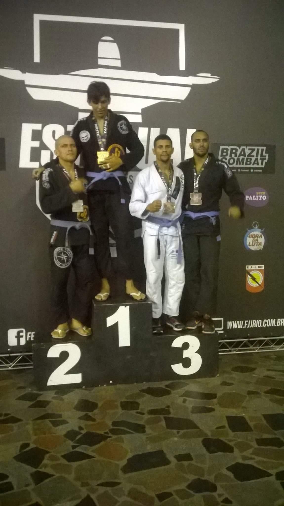 Morador de Laranjais conquista 3° lugar no Jiu Jitsu F J-J RIO2017.