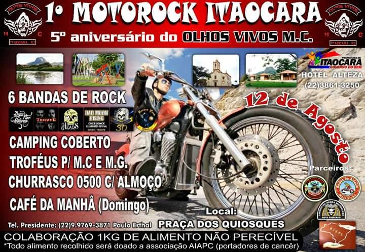 1° MotoRock Itaocara – 12 de agosto
