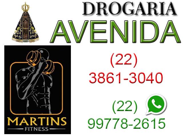 Drogaria Avenida / Martins Fitness
