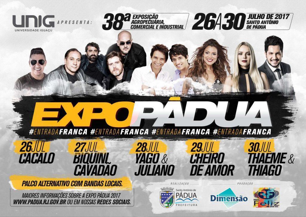 Expo Pádua 2017 – 26 a 30 de julho