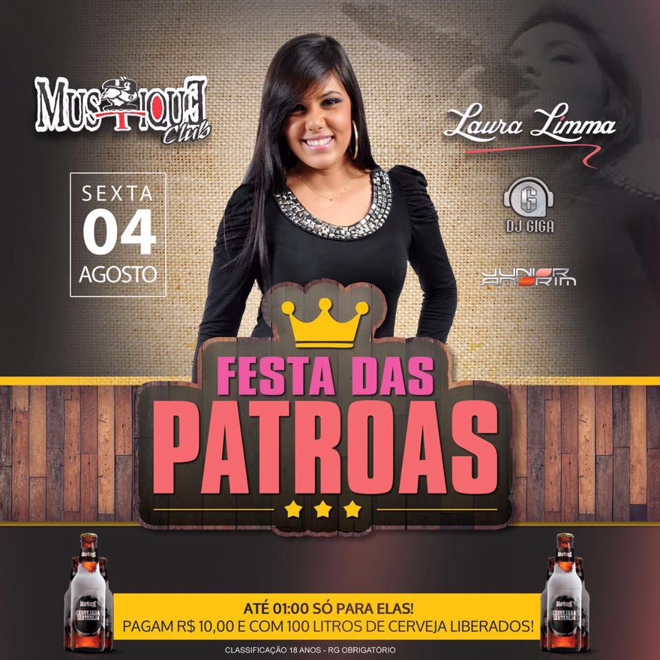 Festa das Patroas no Mustique Miracema