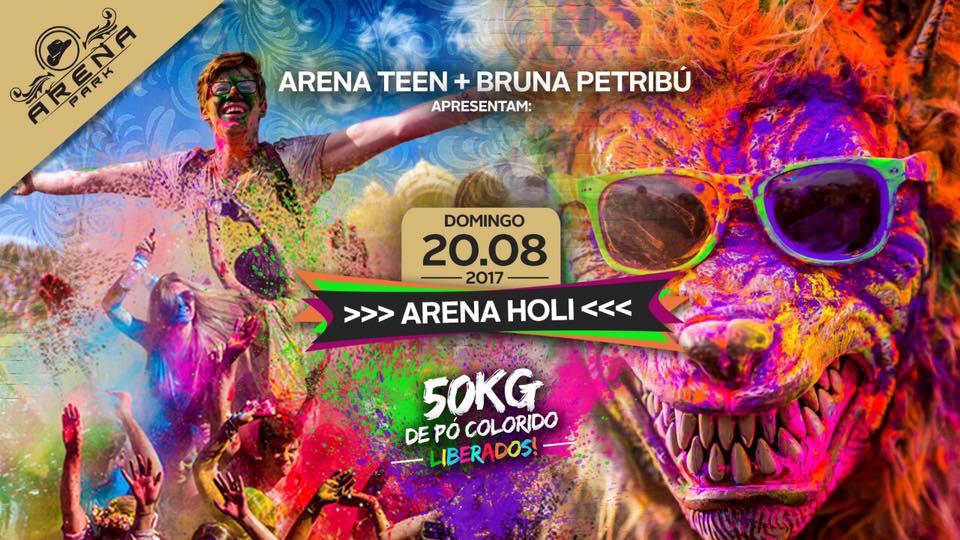Arena Holi – 20 de agosto