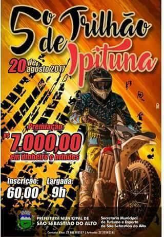 5° Trilhão de Ipituna – 20 de agosto