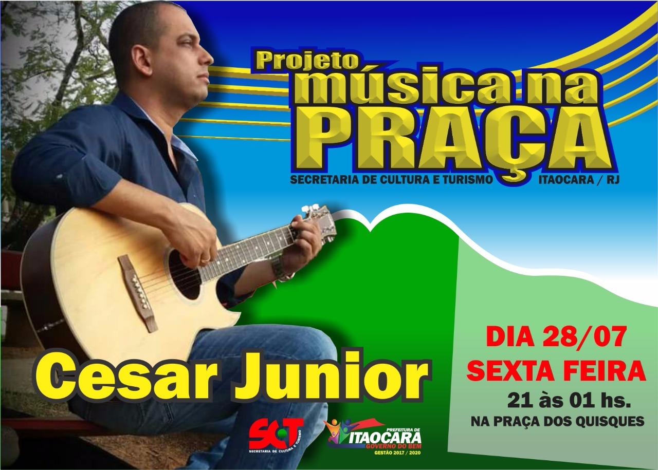 Projeto Música na Próxima começa nessa sexta feira em Itaocara
