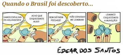 Quando o Brasil foi descoberto…