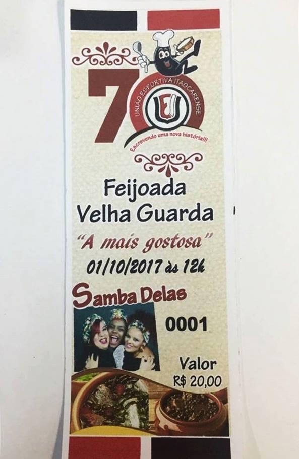 Feijoada – Velha Guarda – União Esportiva Itaocarense (01/10)