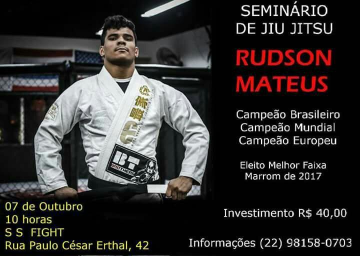 Seminário de Jiu Jitsu dafera RUDSON MATEUS.