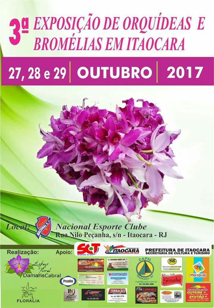 Exposição de Orquídeas e Bromélias em Itaocara