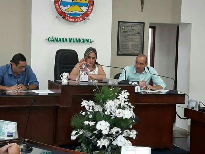 Câmara Municipal de Itaocara discute sobre Concurso Público