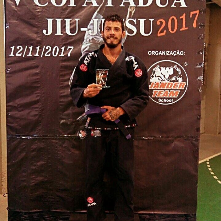 Junior Mello de Cambuci conquista o 2° lugar na V Copa Pádua de Jiu-Jitsu