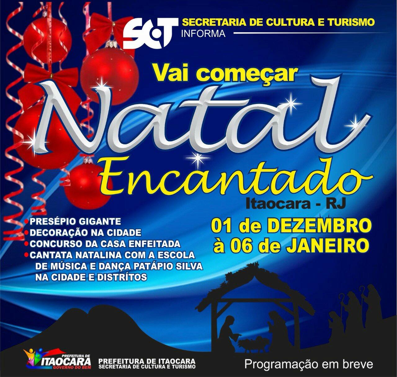 NATAL ENCANTADO EM ITAOCARA