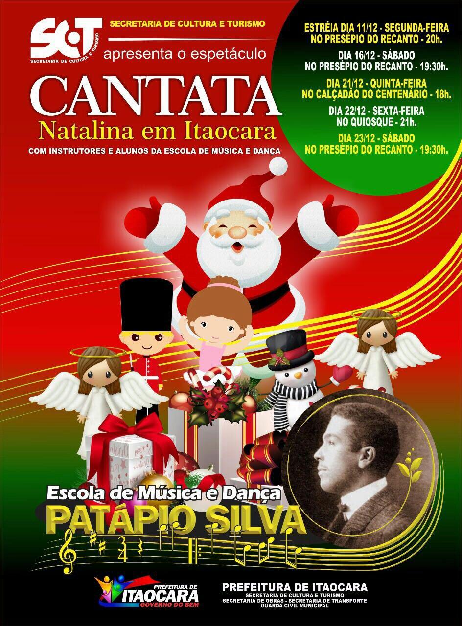 Cantata Natalina em Itaocara